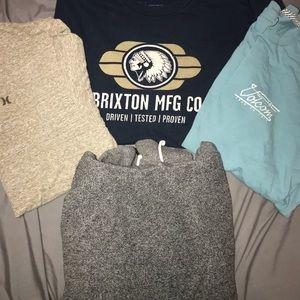 Men's T-shirt's and Sweatshirt